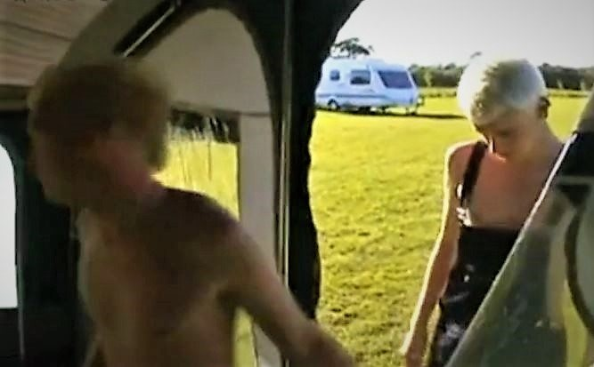 Young Boners in Camping